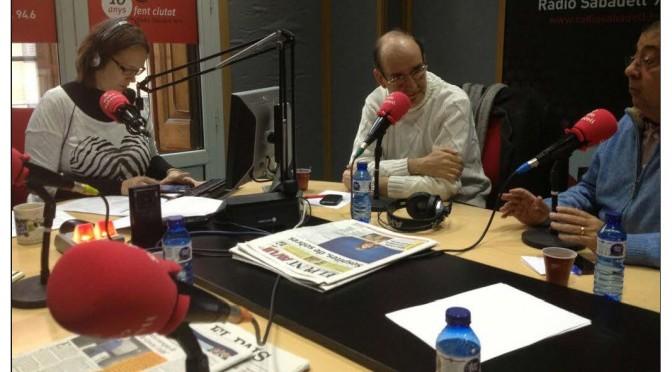 TERTÚLIA RADIO. Radio Sabadell. A Bona Hora (2013.02.01)