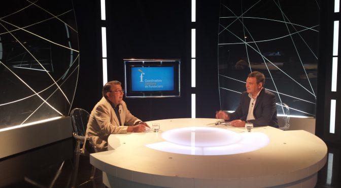 ENTREVISTA TELEVISIÓ. Eduard Berraondo entrevista a Pere-A. Fàbregas, president de la Coordinadora Catalana de Fundacions