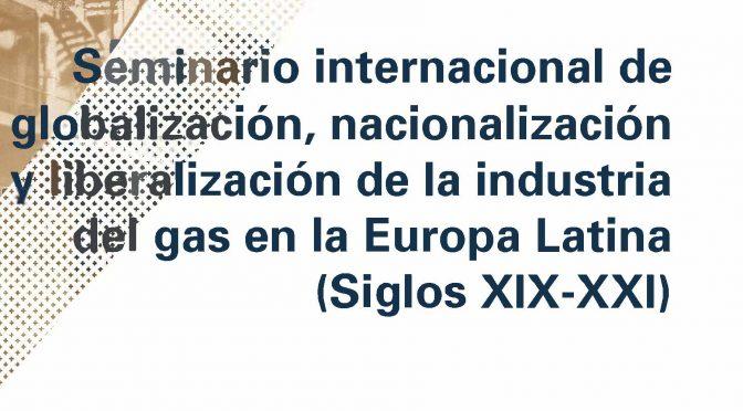 PONENCIA. La estrategia de la implantación de la industria de gas en España